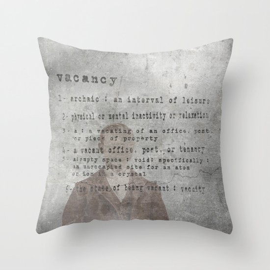Definition  Throw Pillow