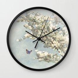 Blossom Delight Wall Clock