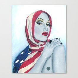American Ladyboy Canvas Print