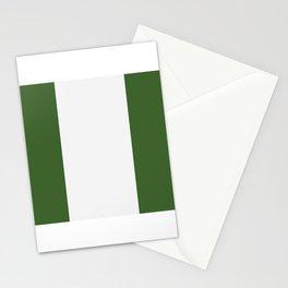 nigeria flag Stationery Cards