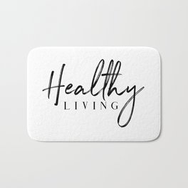 Healthy Living Bath Mat