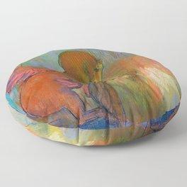 """Odilon Redon """"Pegasus"""" Floor Pillow"""