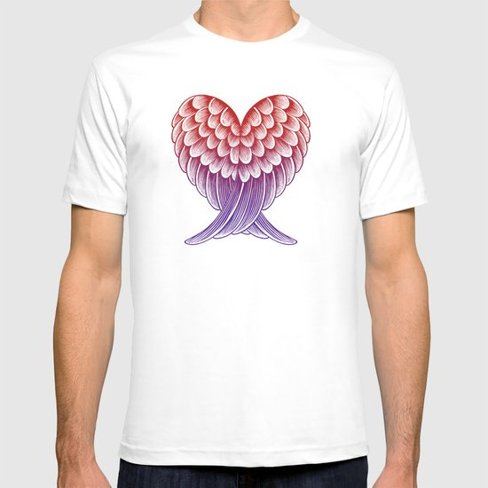 Heart Wings [Pink Version] T-shirt