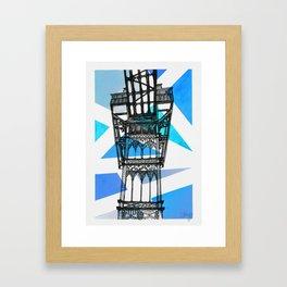 Elevador de Santa Justa - Lisbon Framed Art Print
