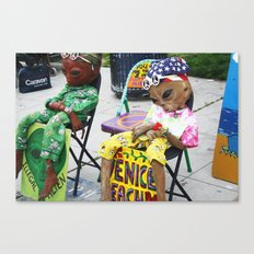 Venice Beach Alien Canvas Print
