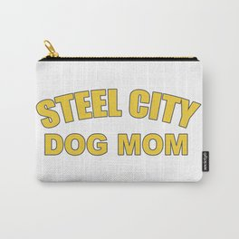 Steel City Dog Mom Carry-All Pouch