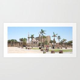Temple of Luxor, no. 16 Art Print