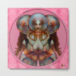 The Pink Chimera Metal Print