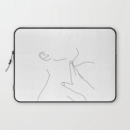 Minimal figure illustration - Alexis Laptop Sleeve