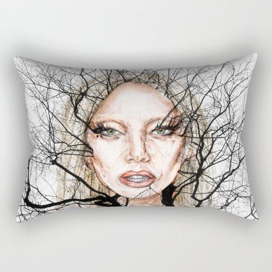 GA Ga Wisdom Veins lg Rectangular Pillow