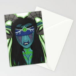 Nightelf Demonhunter Stationery Cards
