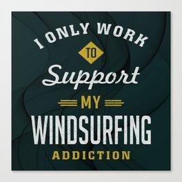 Windsurfing Extreme Sport Canvas Print