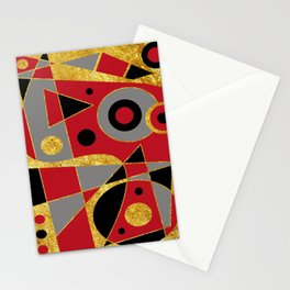 Abstract #510 Stationery Cards