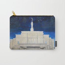 Snowflake Arizona LDS Temple Carry-All Pouch