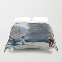 rome Duvet Covers featuring Rome by Andrey Esionov