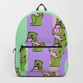 TEDDY BEAR DADDY TEDDY BEAR BABY PATTERN Backpack