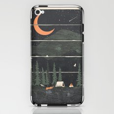 Wish I Was Camping... iPhone & iPod Skin