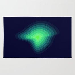 Green light Rug