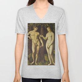 Adam and Eve Unisex V-Neck