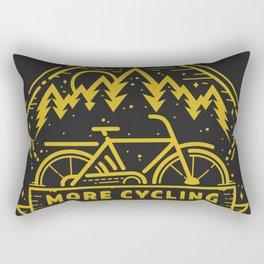 More Cycling Again Rectangular Pillow