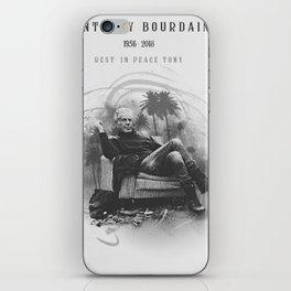 Anthony Bourdain RIP iPhone Skin