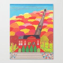 Duquesne Incline Canvas Print