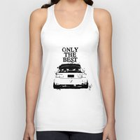 "honda Tank Tops featuring ONLY THE BEST ""HONDA"" by Consuelo Castaneda"