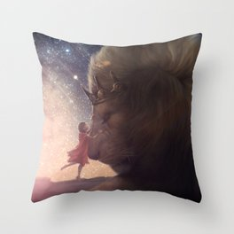 Deform to form a Star Throw Pillow