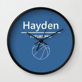 Hayden - Future Pro - Basketball Wall Clock