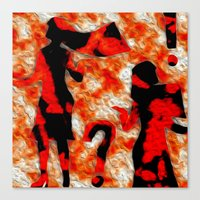 mom Canvas Prints featuring Mom by Vibrance MMN