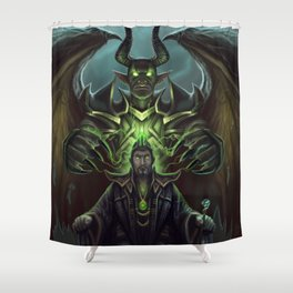Not in his right mind Shower Curtain