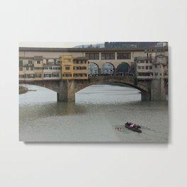 Ponte Vecchio Metal Print