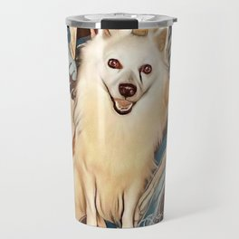 """""""American Eskimo"""" Travel Mug"""