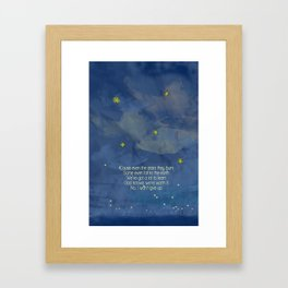 Starry Curry Framed Art Print