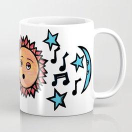 Space Music Coffee Mug