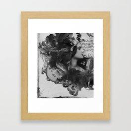 Woman of Valor Framed Art Print
