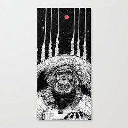 Space Monkey Canvas Print