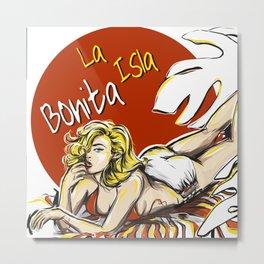 La Isla Bonita, Madonna Metal Print