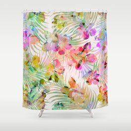 SWEET TROPICS Shower Curtain