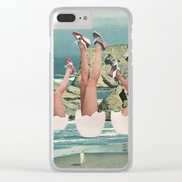 You Gotta Crack Some Eggs To Make An Omelette Clear iPhone Case