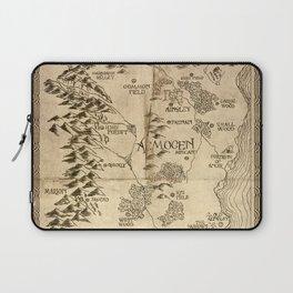 Map of Aemogen Laptop Sleeve