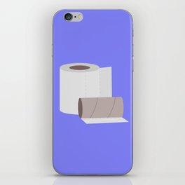 Toilet paper rolls iPhone Skin