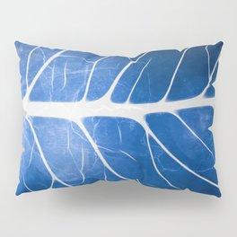 Glowing Grunge Veins Pillow Sham