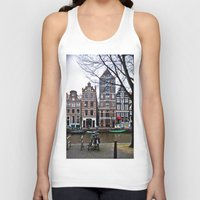 amsterdam Tank Tops featuring Amsterdam by 33bc