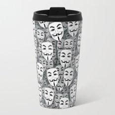 Anonymous masks Travel Mug