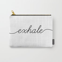 inhale exhale (2 of 2) Carry-All Pouch