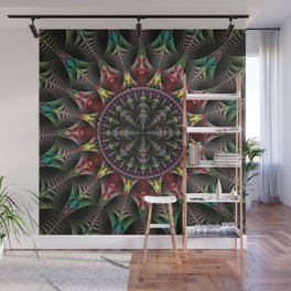 Super Star, fractal abstract Wall Mural