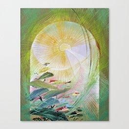12,000pixel-500dpi - Japanese modern interior art #61A Canvas Print