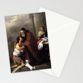 Bartolome Esteban Murillo - The Return of the Prodigal Son Stationery Cards