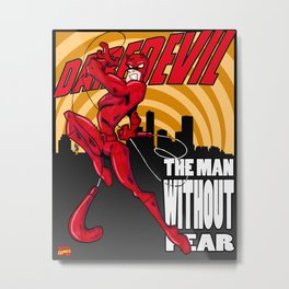 Daredevil: The Man Without Fear Print Metal Print